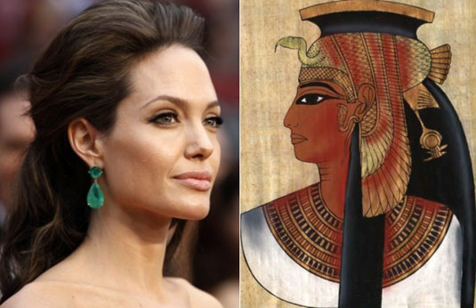 Angelina Jolie as Cleopatra in New Movie About Egyptian Queen