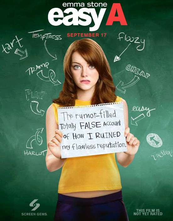 First Easy A Posters - FilmoFilia