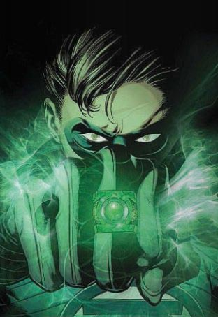 Green Lantern Costume Ring Artwork