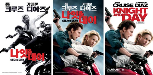 Knight and Day posters