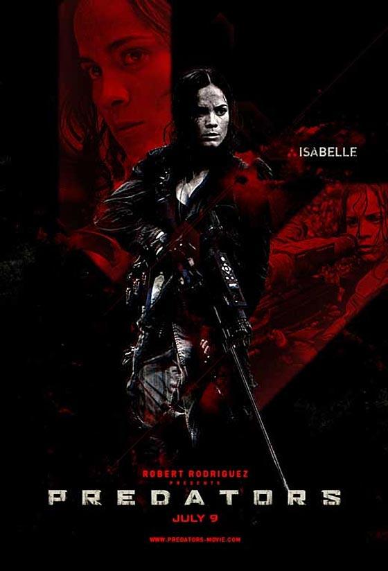 New Predators Posters:... Predators With Adrien Brody