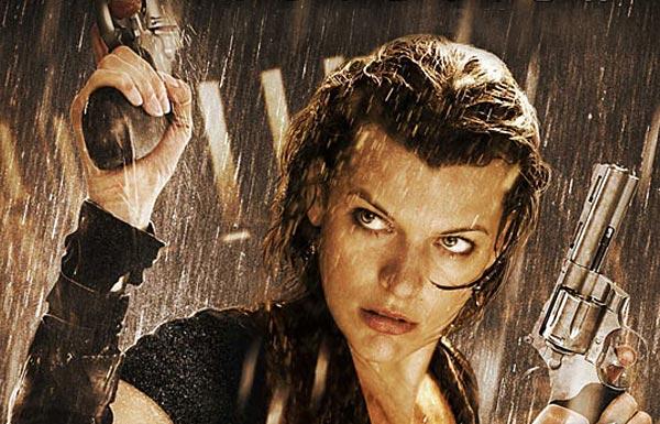 Resident Evil 4 Poster... Milla Jovovich Resident Evil 4