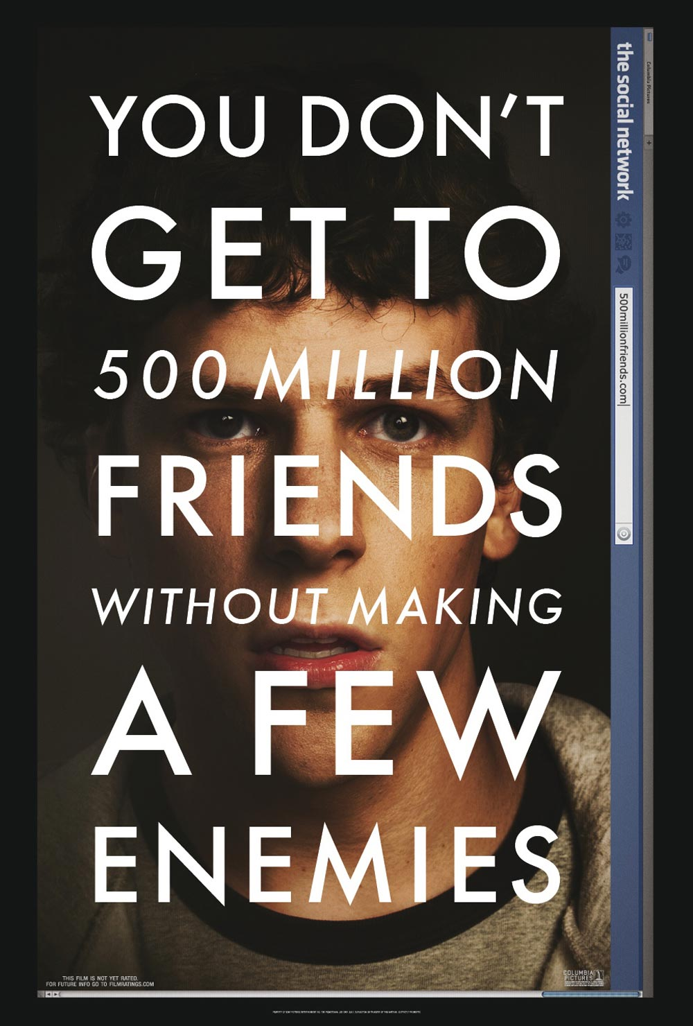 the social network (2010); where fight club meets terrible lie