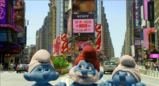 The Smurfs, Papa, Grouchy and Clumsy Smurf