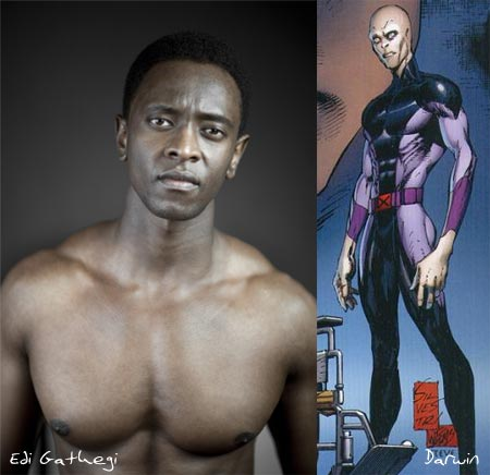 Edi Gathegi, Darwin (X-Men: First Class)