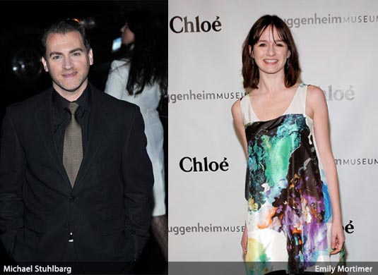Emily Mortimer and Michael Stuhlbarg