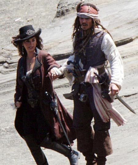 johnny depp pirates of the caribbean 4. and Johnny-Depp, Pirates 4