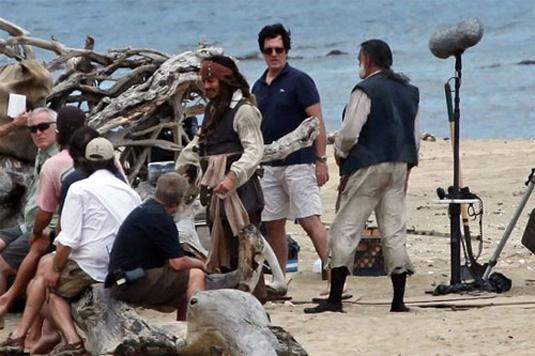 Johnny Depp as Captain Jack Sparrow, Pirates of the Caribbean On Stranger Tides