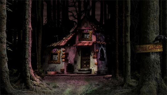 Hansel and Gretel in 3D Promo Photo