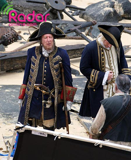 Geoffrey Rush, Pirates of the Caribbean 4