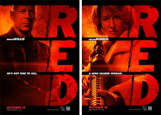 2010 Movie Posters: Two Red Movie Posters