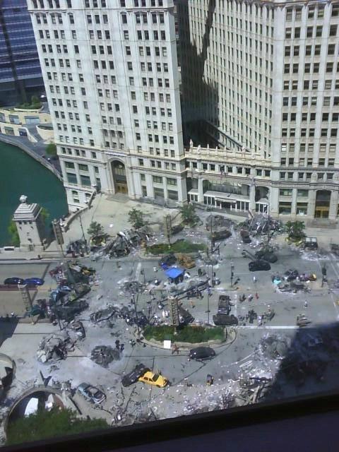 Transformers 3 set photo
