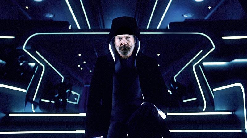 Tron Legacy, Jeff Bridges as Kevin Flynn / Clu 2.0