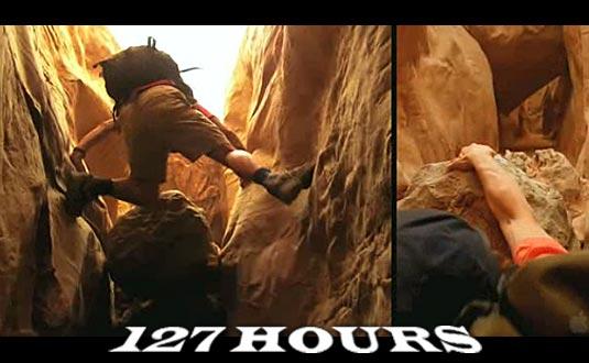 Danny Boyle's 127 Hours Trailer - FilmoFilia