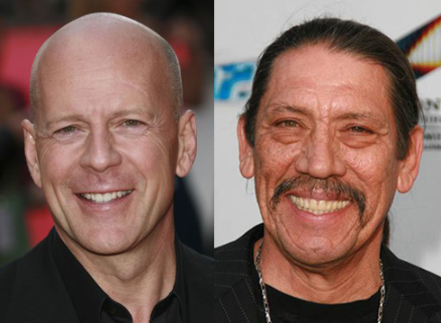 Bruce Willis and Danny Trejo