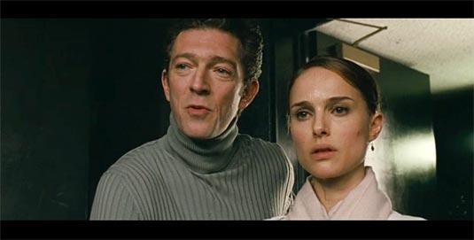 Black Swan, Natalie Portman and Vincent Cassel
