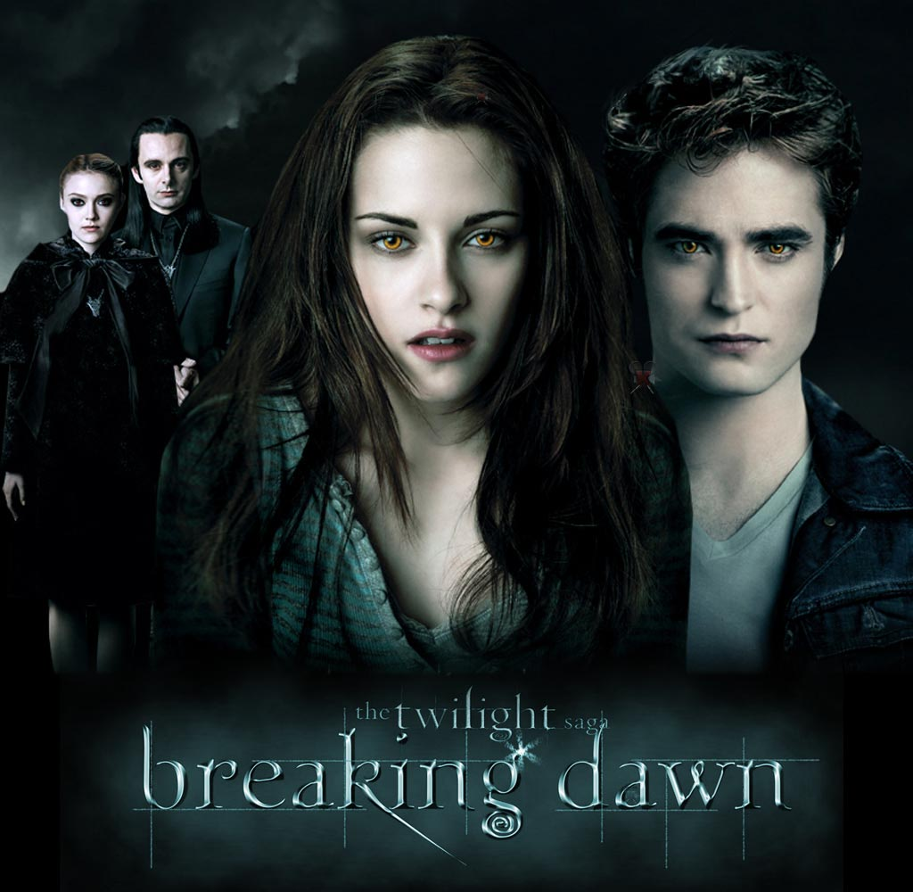 breaking dawn release date  in theaters
