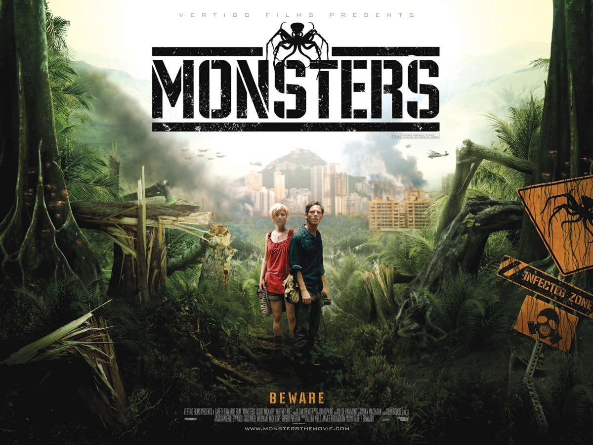 2010 Movie Posters: Monsters Trailer, Posters And Photos