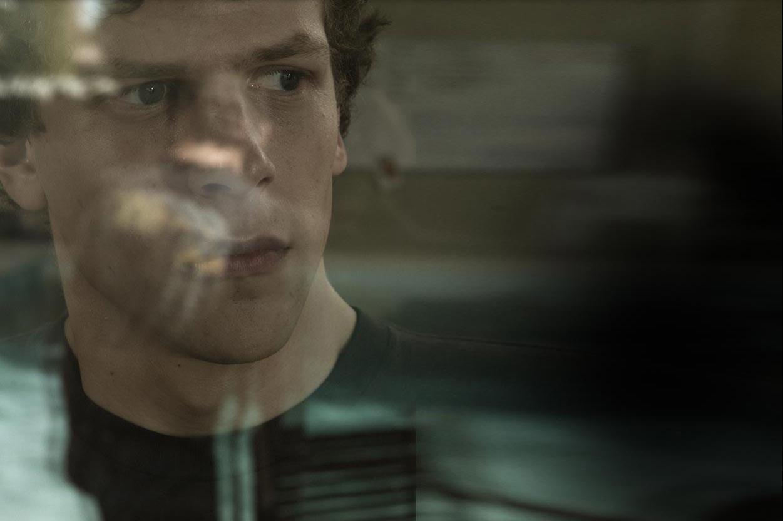 Jesse Eisenberg as Mark Zuckerberg, The Social Network