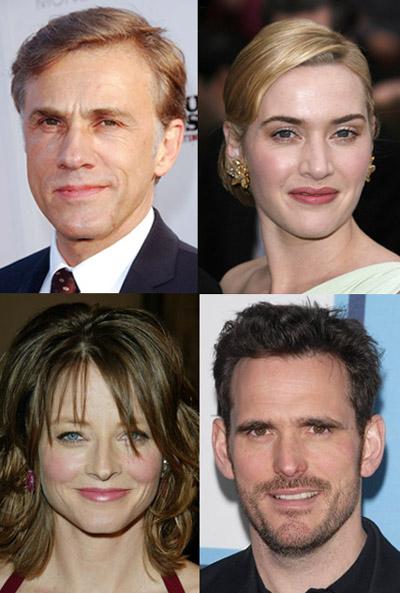 Christoph Waltz, Kate Winslet, Jodie Foster, Matt Dillon