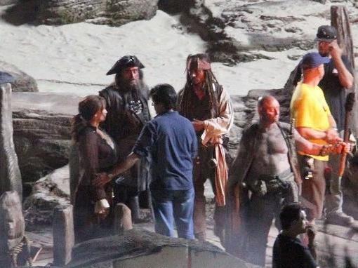 Ian McShane as Blackbeard, Pirates of the Caribbean On Stranger Tides