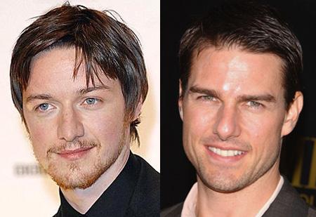 James McAvoy, Tom Cruise