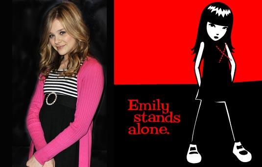 Chloe Moretz to Star as EMILY THE STRANGE