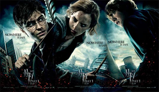 Harry Potter  Harry Potter and the Deathly Hallows: Part 1 Posters