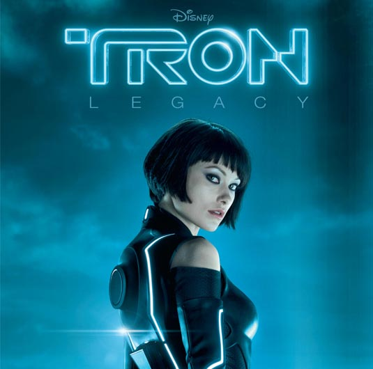Tron Legacy: Olivia Wilde Poster and Sneak Peek Video