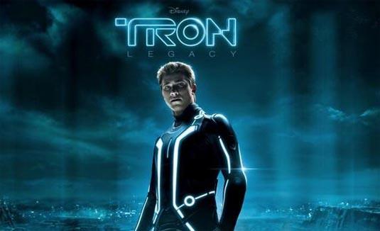 Tron Legacy Banner, Garrett Hedlund