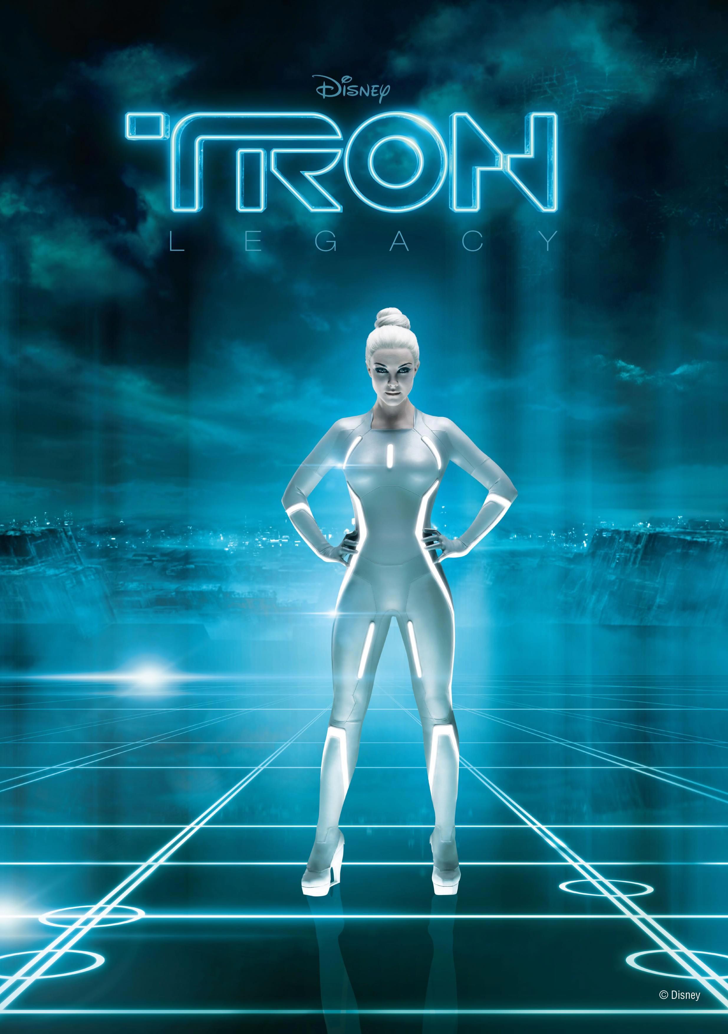 tron legacy poster, beau garrett (siren jem) - filmofilia