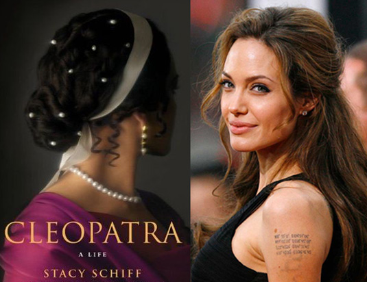 Angelina Jolie as 3D Cleopatra, James Cameron's New Movie?