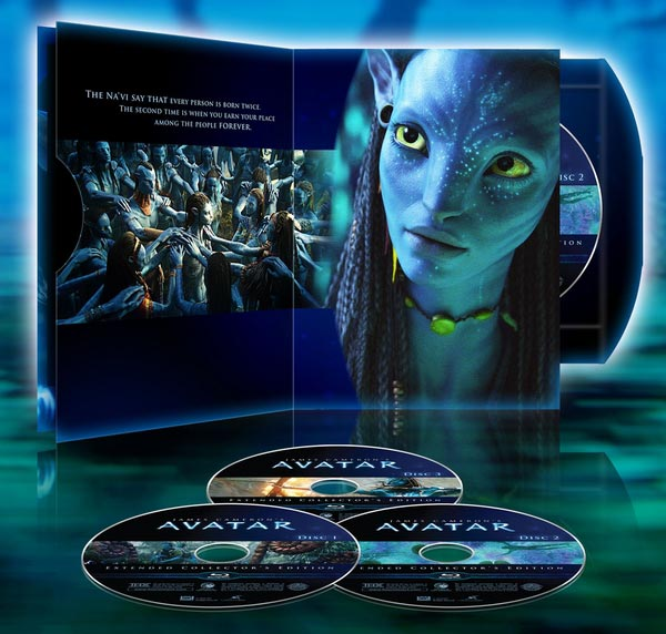 Avatar Trailer: Two Avatar Extended Collector's Edition Trailers And