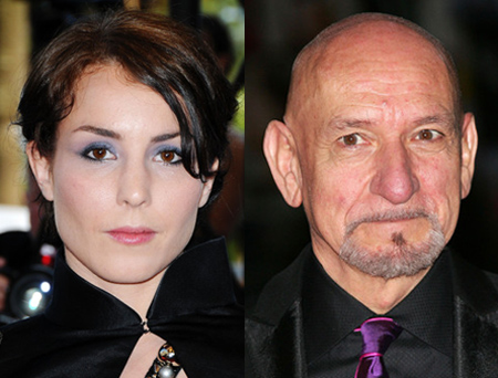 Noomi Rapace and Ben Kingsley