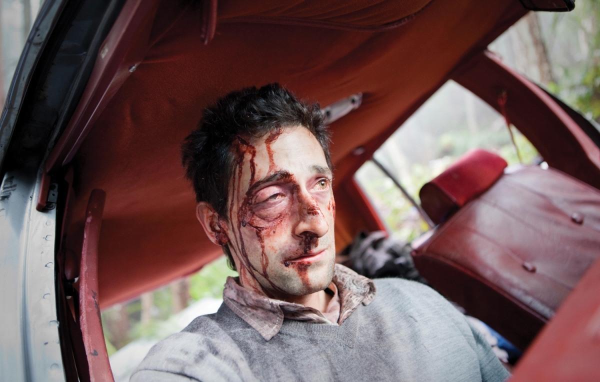 Wrecked Trailer Debute... Adrien Brody Wrecked