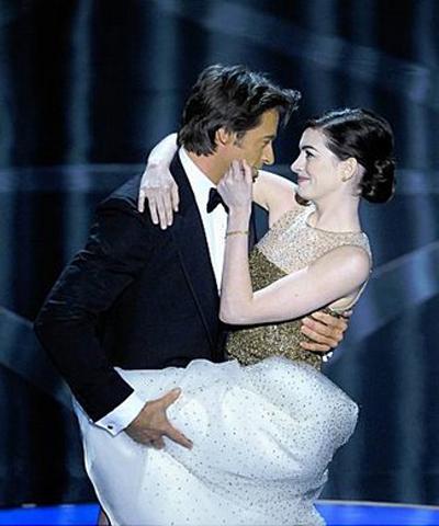 Hugh Jackman Anne Hathaway