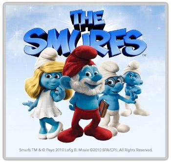 The Smurfs Promo