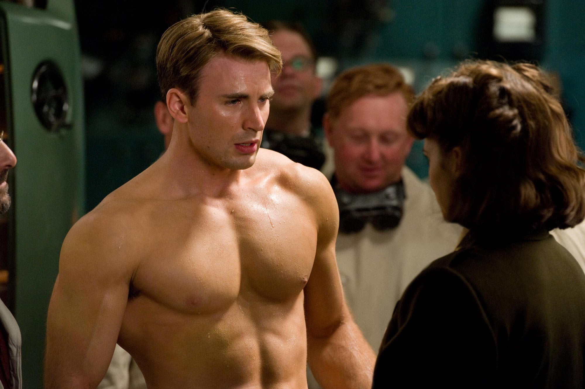 Chris Evans Captain America The First Avenger