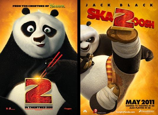 Kung Fu Panda 2 Posters