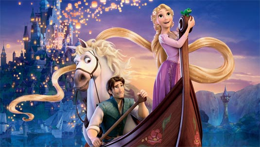 Disney Movie Posters: New Tangled Poster And Promo Clip