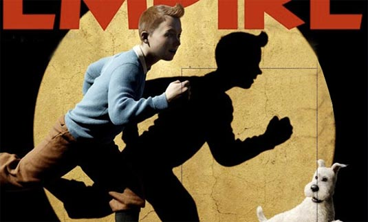 first images from The Adventures of Tintin: The Secret of the Unicorn