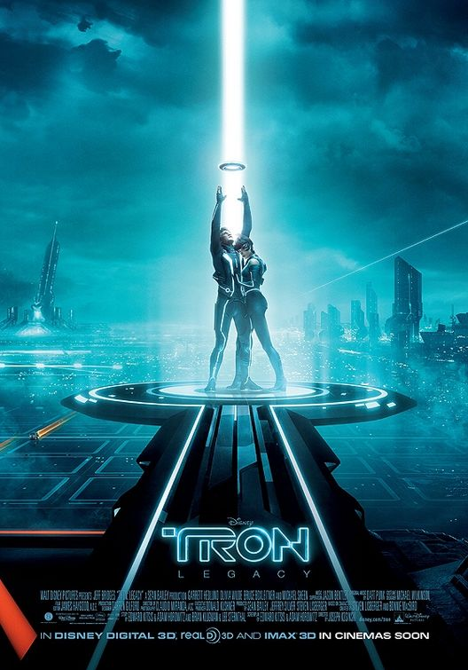 Tron: Legacy, Triptych Poster #2
