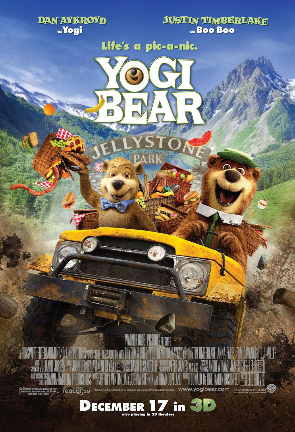 Yogi Bear Movie Poster Controversy New Yogi Bear Posters ...
