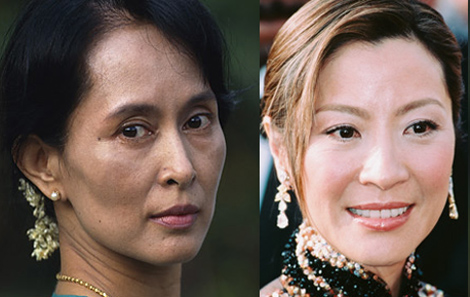 Aung San Suu Kyi, Michelle Yeoh