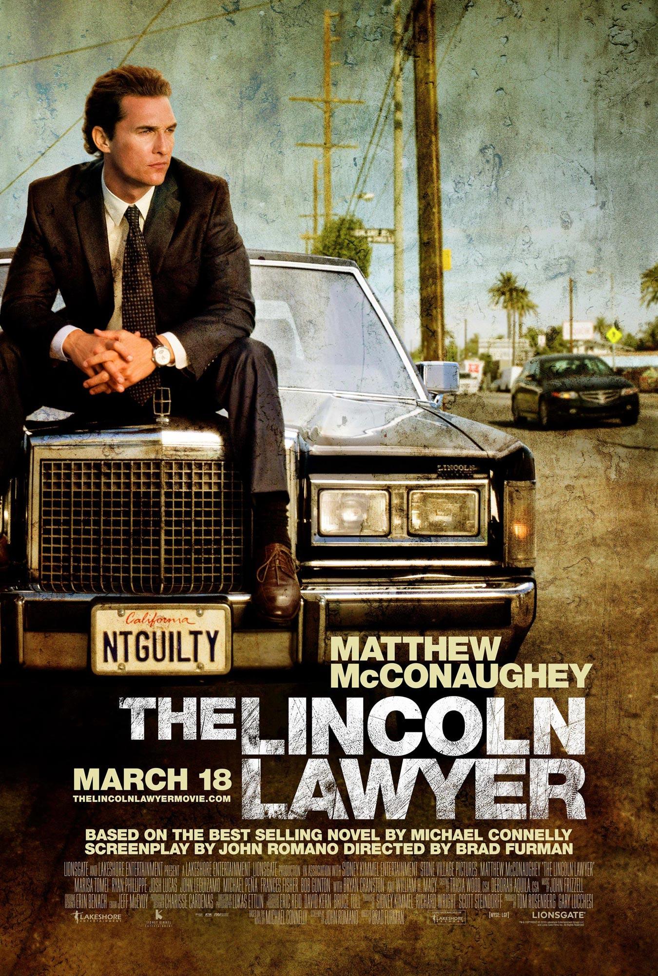 The Lincoln Lawyer Poster - FilmoFilia