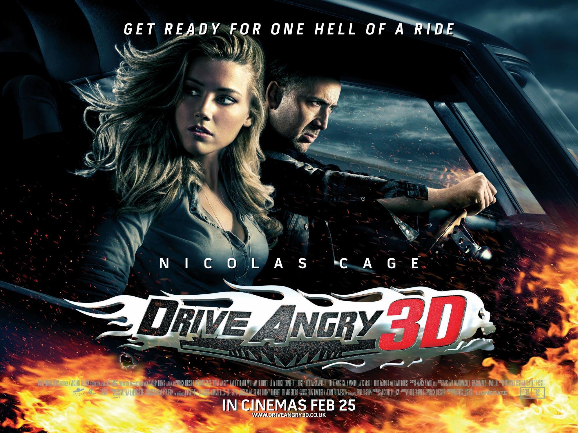 ニコラス・ケイジのドライブ・アングリーという映画