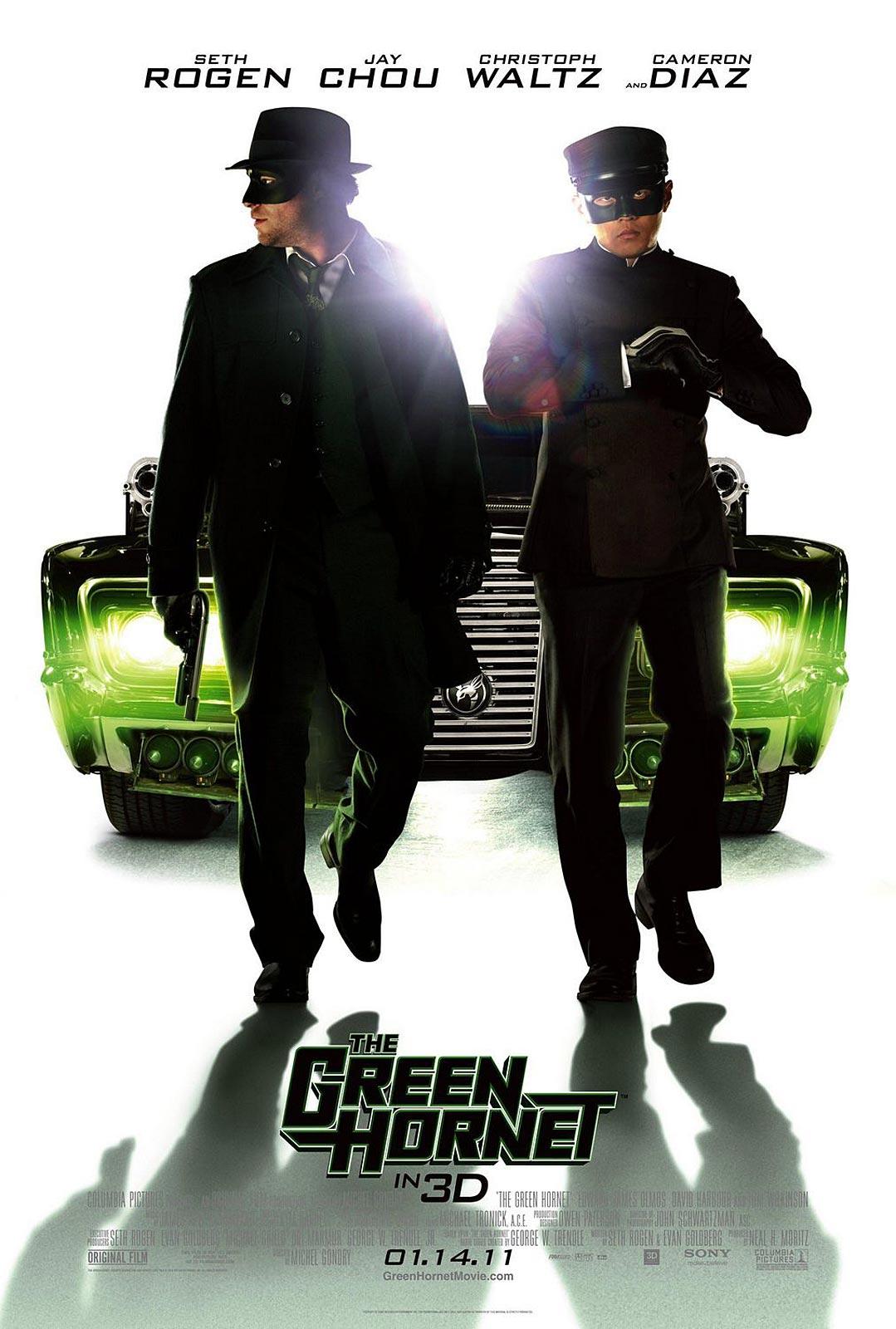 Final The Green Hornet Poster - FilmoFilia