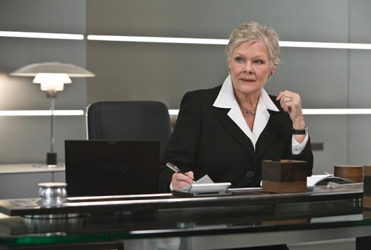 Judi Dench as M