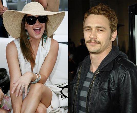 Kate Hudson and James Franco