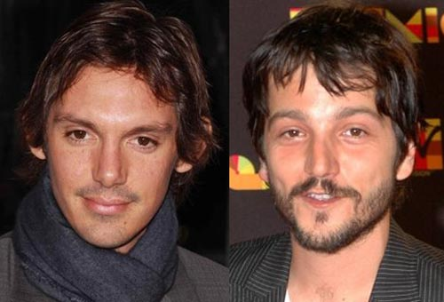 Lukas Haas and Diego Luna